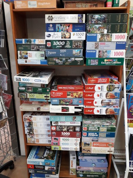 Jigsaw puzzles, exchange welcome