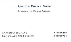 Andy's Phone Shop