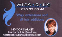 Wigs R Us ,to find the perfect wig